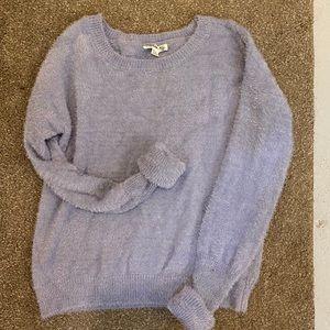GARAGE So Soft Baby Blue Sweater